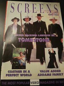 SCREENS MAGAZINE JUNE 1994 KURT RUSSELL VHS RENTAL VIDEO MAGAZINE
