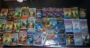 Pokemon Tcg Vintage Booster Packs Lot Skyridge Aquapolis Base Set Neo 600 Totals