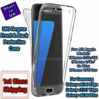 New 360 degree shockproof Front & Back Clear Case For Samsung & iPhone Models UK