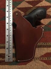 """LEFT HAND Smith & Wesson S&W Model 36 37 60 2"""" Barrel Leather Holster / OWB"""