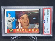 1960 Topps Baseball #210 Harmon Killebrew - PSA 4 Washington Senators