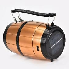 6LED+1W  Retractable Camping Tent Solar Lantern Outdoor Emergency LED Light Lamp