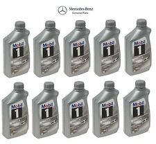 For MOBIL 10-Liters Set of 10 FORMULA M; 5W-40; MB Spec 229.5 Genuine