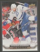 [67410] 2015-16 UPPER DECK CANVAS STEVEN STAMKOS #C78