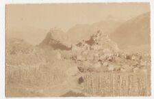 Switzerland, Sion, Tourbillon et Valere, Bietshorn RP Postcard, B220