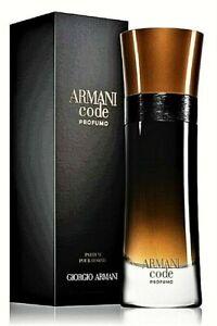Armani Code Homme PROFUMO 110 ml Eau de Parfum Spray Neu & Ovp 110ml Herren EdP