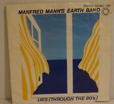 """MANFRED MANN's EARTH BAND - Lies (Through the 80's) > 7"""" Vinyl Single"""