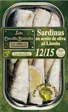 Kleine Sardinen in Olivenöl mit Zitronen 12/15 St - RR 125 aus Rias Gallegas #1