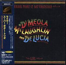 Friday Night In San Francisco JAPAN 1996 Mini LP CD Al Di Meola JOHN MCLAUGHLIN
