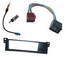 Radio Einbau Blende Rahmen DIN ISO Fakra Antennen Adapter Kabel Stecker für BMW