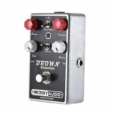 MOSKY BROWN DISTORTION OVERDRIVE GUITAR PEDAL PLEXI MARSHALL