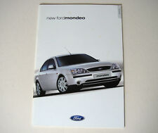 Ford . Mondeo . Ford Mondeo . September 2000 Sales Brochure