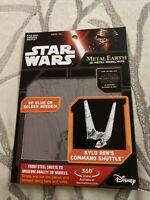 Fascinations - Metal Earth 3D Model Kit - Star Wars - Kylo Ren's Command Shuttle
