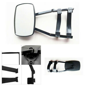 19×13cm Adjustable Clip-on Extension Trailer Towing Mirror Fit For Car SUV Truck