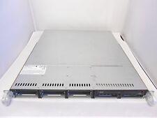 """SuperMicro Half Depth 1U Server CHASSIS 1026T-M3F 2.5"""" SAS SATA SAS113TQ X8 ATX"""