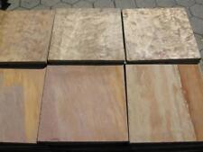 Terrassenplatten 1qm 40x40cm  Natursteinplatten Quarzit rot braun