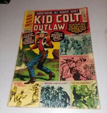 Kid Colt Outlaw #130 stan lee 1966 Origin Retold 68 Page Giant marvel comics