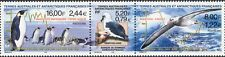 FSAT/TAAF 2000 Birds/Penguins/Albatross/Nature/Wildlife/Conservation 3v (n30233)