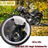Motorrad 5.75  Zoll LED Haupt Scheinwerfer Hi/Lo DRL Für Harley Davidson DE