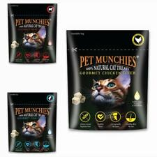 Pet Munchies Freeze Dried NATURAL CAT TREATS Beef Chicken Liver Meat Fish Fillet