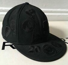 Raro 2005 AW SUPREME ERA 59 Fifty efectivo X NEW dinero negro equipado Cap Hat 7 1/2