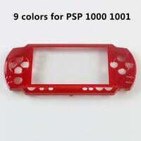 9 colors Faceplate Housing Cover Case Shell Cover Replacement for PSP 1000 1001