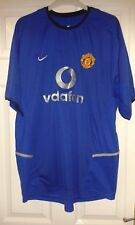 Mens Football Shirt - Manchester United - Nike - Third - RIO FERDINAND SIGNED