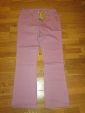 cotton traders lavender bootcut jeans size 12 leg 33 brand new with tags
