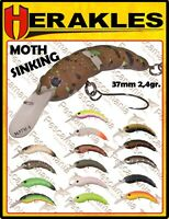 Artificiale spinning hard bait Herakles MOTH SINKING crank 37mm 2,4gr trout area