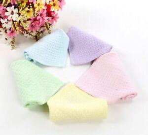 skin-friendly bamboo fiber baby soft towel,12pcs/set 23*23cm,4 colors be chosen