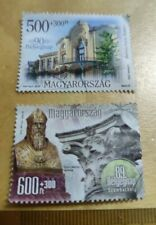 Rm1 Sahaja Hungary Magyarorszag used stamp 2 pc