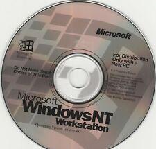 Microsoft WindowsNT Workstation Operating System Version 4.0