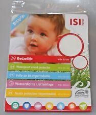 ISI Mini Wasserdichte Betteinlage 40 x 50 cm Nässeschutzauflage Molton BABY