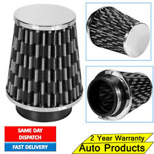 """BLACK PERFORMANCE COLD AIR INDUCTION CONE FILTER - 3"""" INCH NECK HIGH FLOW INTAKE"""