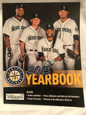 SEATTLE MARINERS 2015 YEARBOOK (CRUZ, SEAGER, CANO, AND HERNANDEZ)
