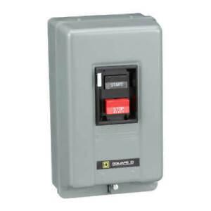 Square D 2510MBG2 Nema 1 Enclosure 600V Manual Motor Starter