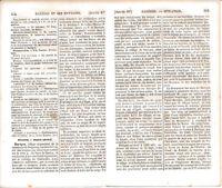 65 Baréges 1862 guide orig. (18 p.) ascensions pic d'Ayré pic du Midi de Bigorre