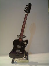 Miniature Guitar (24cm Tall) : MOTLEY CRUE NIKKI SIXX THUNDERBIRD