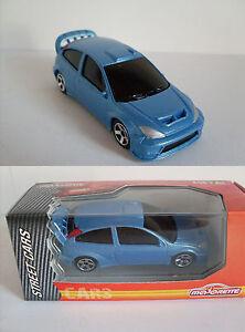 FORD FOCUS WRC STREET, Majorette Street Cars Auto Modell, Neu, OVP