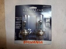 NEW SYLVANIA SILVERSTAR HIGH PERFORMANCE LIGHTING HEADLIGHTS 9003/HB2 ST/2