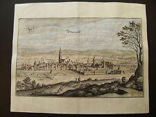 Bild von Neumarkt i.d. Oberpfalz, kolorierter Kupferstich 1644 original