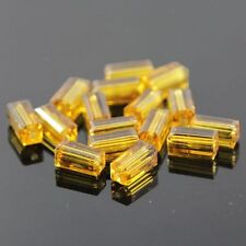 20pcs Swaro-element  4x4x8mm Cuboid Crystal beads E Amber