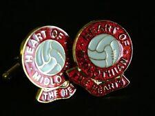 Hearts of Midlothian Football Club Cufflinks