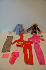 Barbie Clothing Lot, Jumpsuit, evening Wear, Jacket, Swimsuit, Etc.