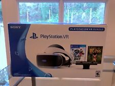 PlayStation 4 VR Headset Astro Bot Moss and Camera PS4 PSVR Bundle CUH-ZVR2 NG