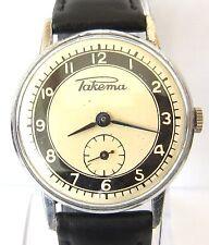 Raketa Small Seconds Vintage Soviet Hand-Wind Men's Watch - Unique dial