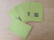 New-  5 Cardboard Envelopes DODO 5 Sobres de Cartulina  - 8'5 x 8'5 cm - Nuevo