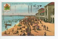 CANADA carte postale ancienne TORONTO 13 on the beach sunnyside