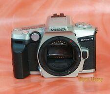 Minolta Dynax 4 Spiegelreflexkamera 1053)))