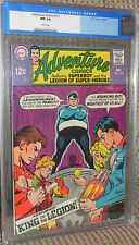 Adventure #375 CGC 9.4 Near Mint White Pages Superboy Legion of Super-Heroes/LSH
